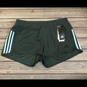 Adidas Design 2 Move Knit Shorts - Legend Ivy Mint